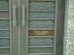 Ruth <i>Leffler</i> Anthony
