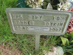 Mary Lou <i>Bonner</i> Boykin