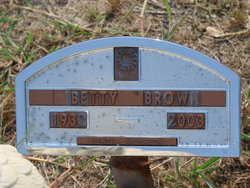 Betty <i>Hord</i> Brown