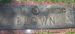 Woodrow Wilson Woodie Brown