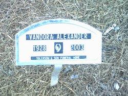 Vandora Alexander