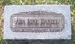Ada Ione <i>Ridgeway</i> Daniel