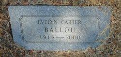Evelyn <i>Carter</i> Ballou