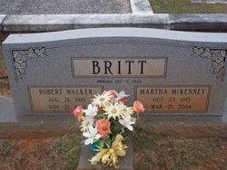 Martha Alice <i>McKenney</i> Britt