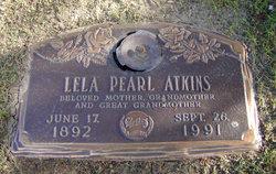 Lela Pearl Atkins