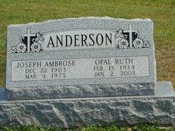 Opal Ruth <i>Smith</i> Anderson