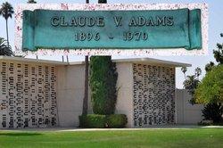 Claude V Adams