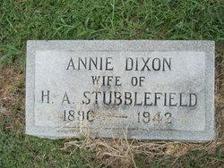 Annie Dixon Stubblefield
