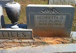 Henrietta Palestine <i>Davis</i> Liles