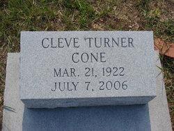 Cleve <i>Turner</i> Cone