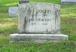 Alice Cockcroft