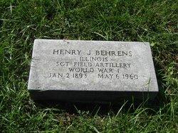 Sgt Henry J. Behrens