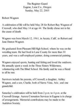 Robert Ray Wagnon