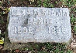 Lenna May <i>Stamm</i> Bange