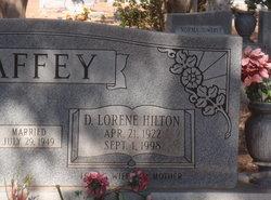 Dottie Lorene <i>Hilton</i> Caffey