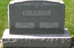 Anna Marie Marie <i>Beebe</i> Babbler