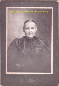 Mary Margaret <i>Allen</i> Sollenbarger