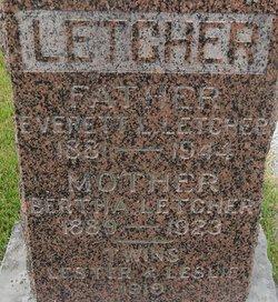 Bertha <i>Trabue</i> Letcher