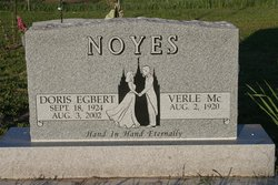 Doris <i>Egbert</i> Noyes