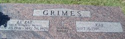 Lieut James Pat Grimes