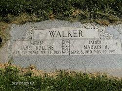 Janet <i>Rollins</i> Walker