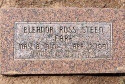 Eleanor May <i>Earp</i> Steen