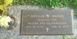 Phyllis <i>White</i> Nance