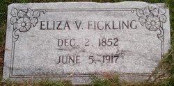 Eliza Vernell <i>Livingston</i> Fickling