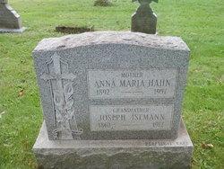 Anna Maria <i>Isemann</i> Hahn