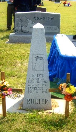 Mina Faye Faye <i>Johnston</i> Rueter
