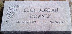Lucy <i>Jordan</i> Downen
