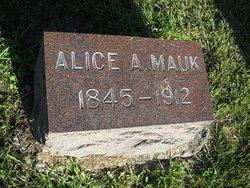 Alice A. <i>Whisenand</i> Mauk