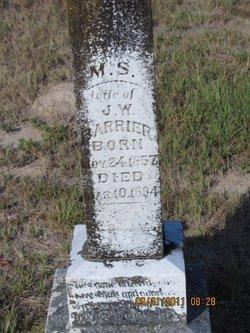 Mary Susan <i>Smith</i> Barrier