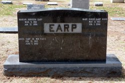 Marian Frances <i>Johnson</i> Earp
