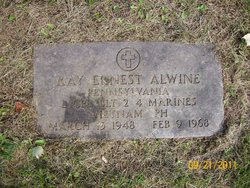 LCpl Ray Ernest Alwine