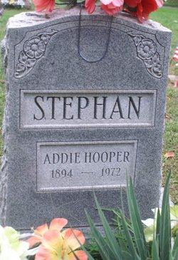 Addie Bell <i>Waddell</i> Hooper -Stephan