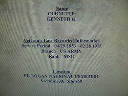 Kenneth G Curnutte