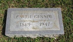 Carrie Emma <i>Hughes</i> Gennoe