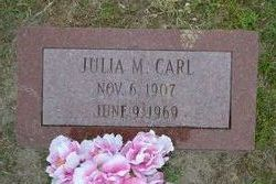 Julia M. <i>Purrington</i> Carl