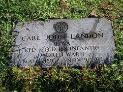 Corp Carl John Landon