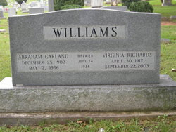 Abraham Garland Williams