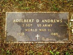 Sgt Adelbert Dudley Andrews