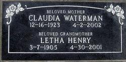 Letha F. <i>Fallwell</i> Henry