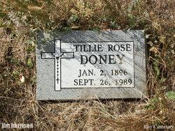 Tillie Rose Doney