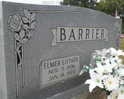 Elmer Luther Barrier