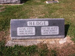 Alva Otis Hedge