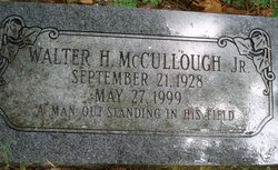 Walter H McCullough, Jr