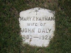 Mary F <i>Hannan</i> Daly