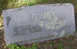 Addie M. Fields