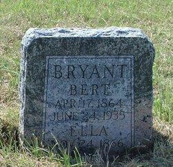 Benjamin Berton Bert Bryant